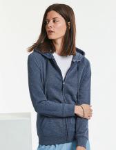 Ladies` HD Zipped Hood Sweat